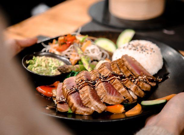 Grilled Tuna Power